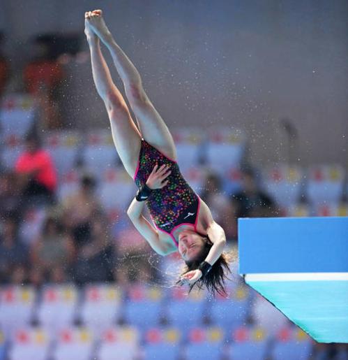 荒井祭里 高飛び込み オリンピック